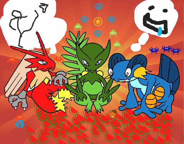 Desenho De Pokemons Na Pokebola Pintado E Colorido Por Usuario Nao