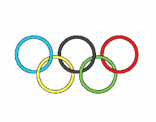 Desenho De Jogos Olimpicos Pintado E Colorido Por Usuario Nao