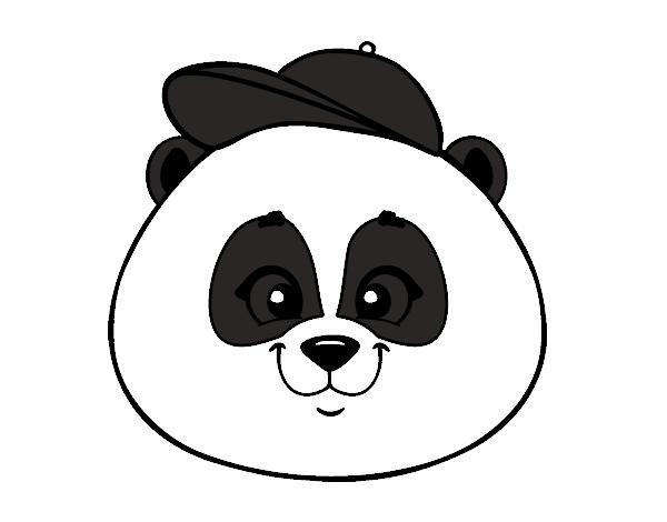 Desenho De Panda Fofo Pintado E Colorido Por Usuario Nao