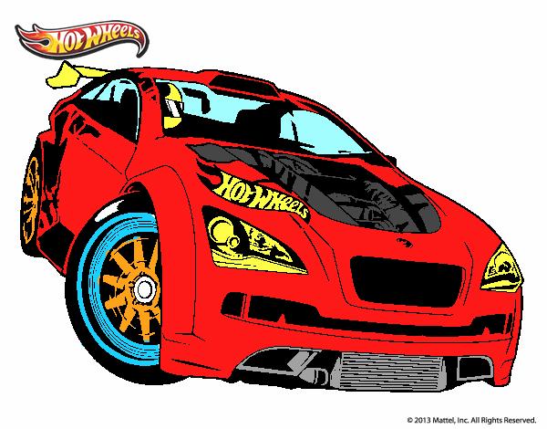 Desenho De Hot Wheels Megane Trophy Pintado E Colorido Por Usuario