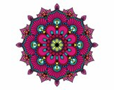 Mandala flash floral