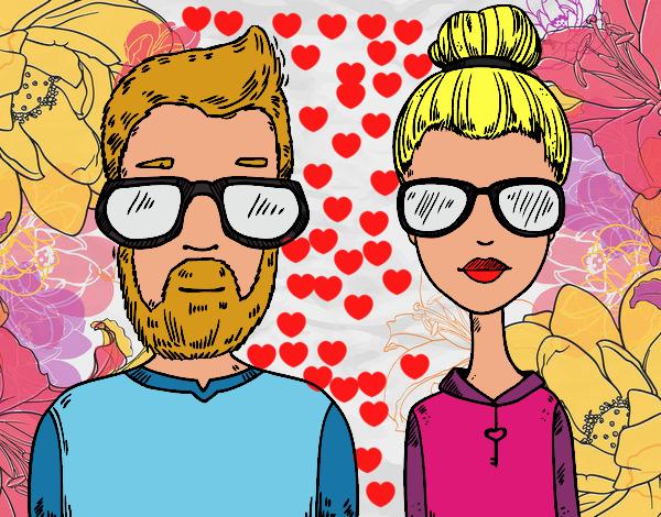 Desenho De Hipsters Pintado E Colorido Por Usuario Nao Registrado