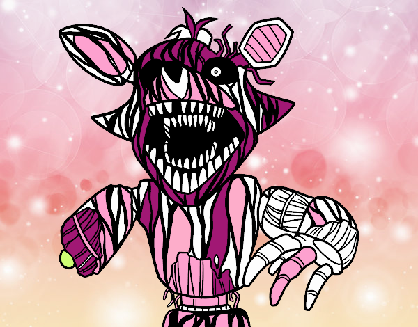 Foxy aterrorizante de Five Nights at Freddy's