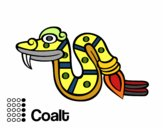 Os dias astecas: serpente Coatl