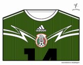 Camisa da copa do mundo de futebol 2014 do México