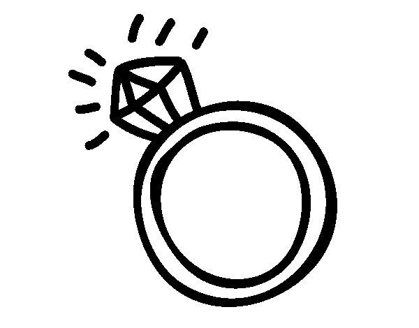 Desenho de aliana matrimonial para colorir colorir desenho de aliana matrimonial para colorir altavistaventures Image collections