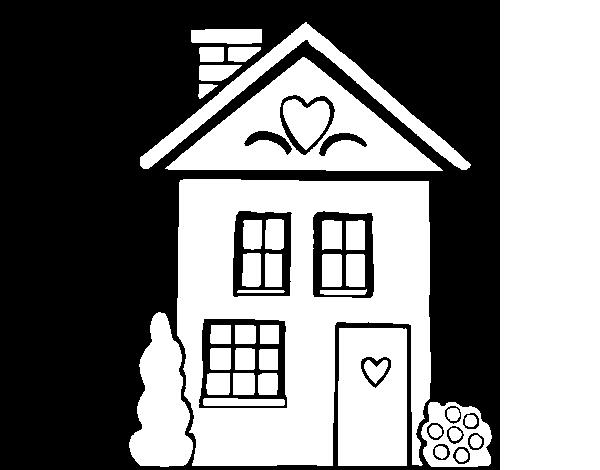 Casa Para Colorear En Ingles actividades en espanol de las partes de ...