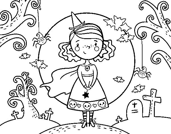 Desenho De Dia Do Halloween Para Colorir