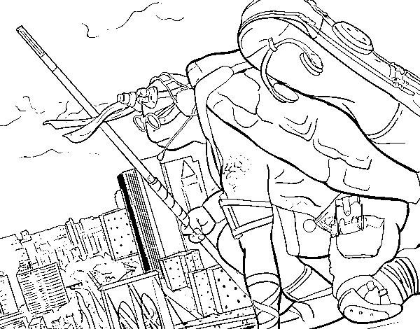 Desenho De Donatello Ninja Turtles Para Colorir Colorir Com
