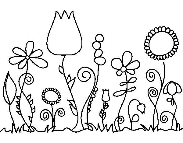 flores desenhar - Akba.greenw.co
