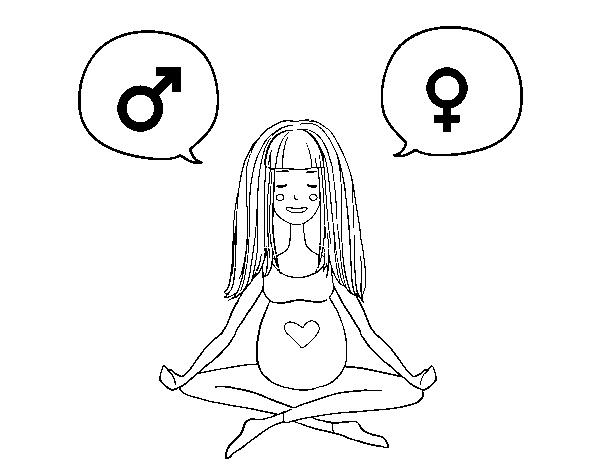 Desenho De Menino Ou Menina Para Colorir Colorir Com