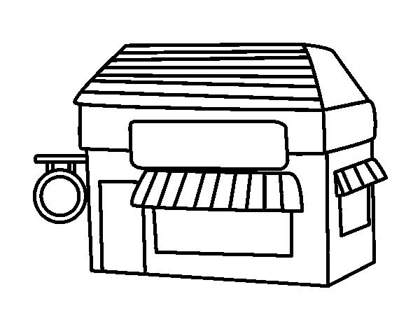 Desenho De Negocio Para Colorir Colorir Com