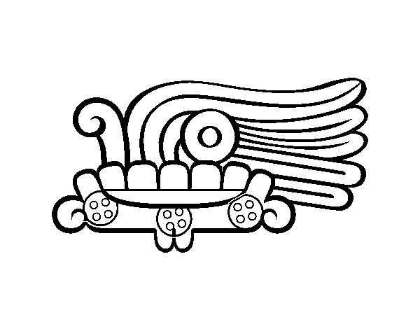 Desenho De Os Dias Astecas Grama Malinalli Para Colorir Colorir Com