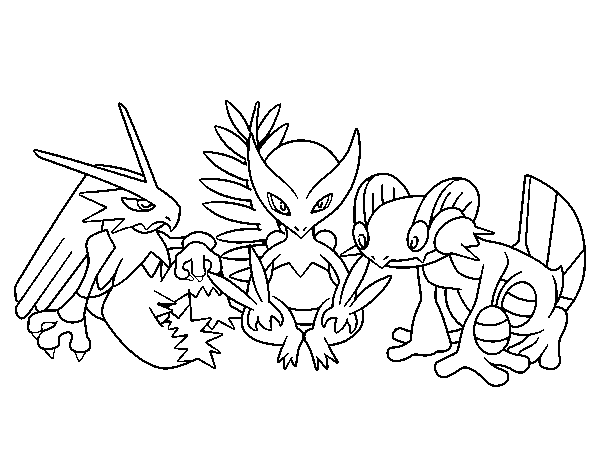 desenho de pokemons para colorir colorir com
