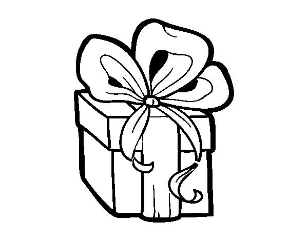 Presente De Natal Para Colorir Museumruim1op10 Nl