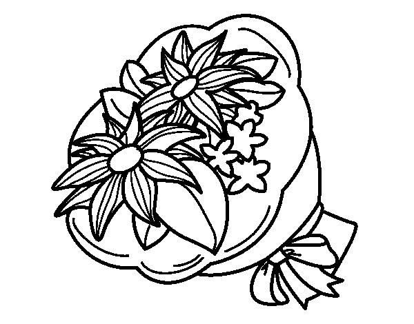 Desenho de Ramo de crisântemo para Colorir - Colorir.com