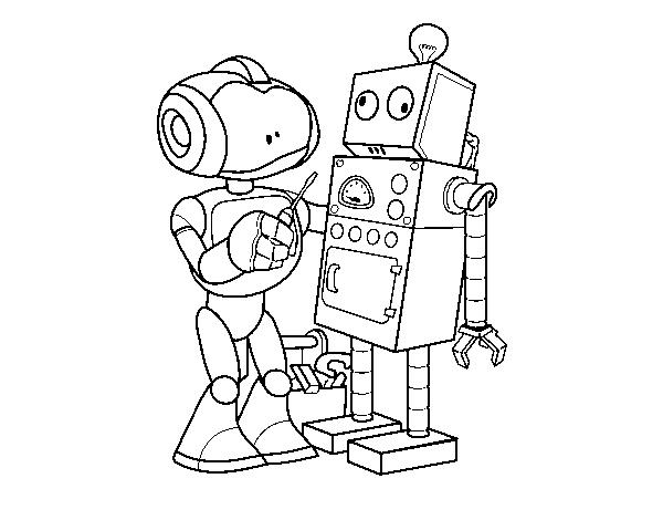 Desenho De Robo Organizador De Robo Para Colorir Colorir Com