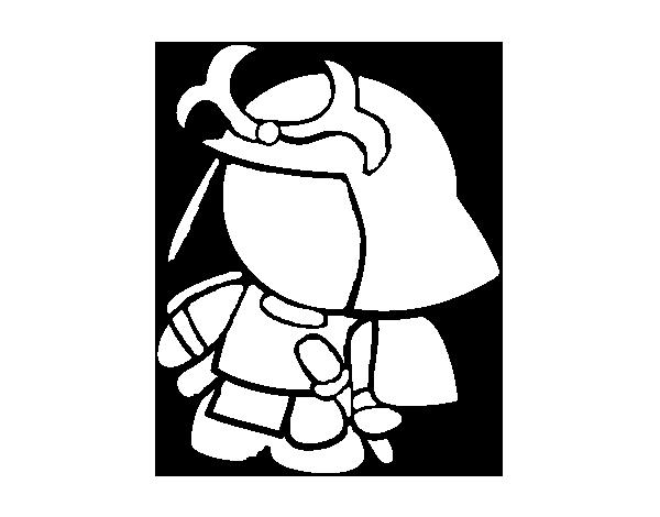 Desenho De Samurai Com Armadura Para Colorir Colorir Com